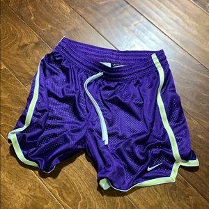 vintage purple Nike shorts black tag dri-fit